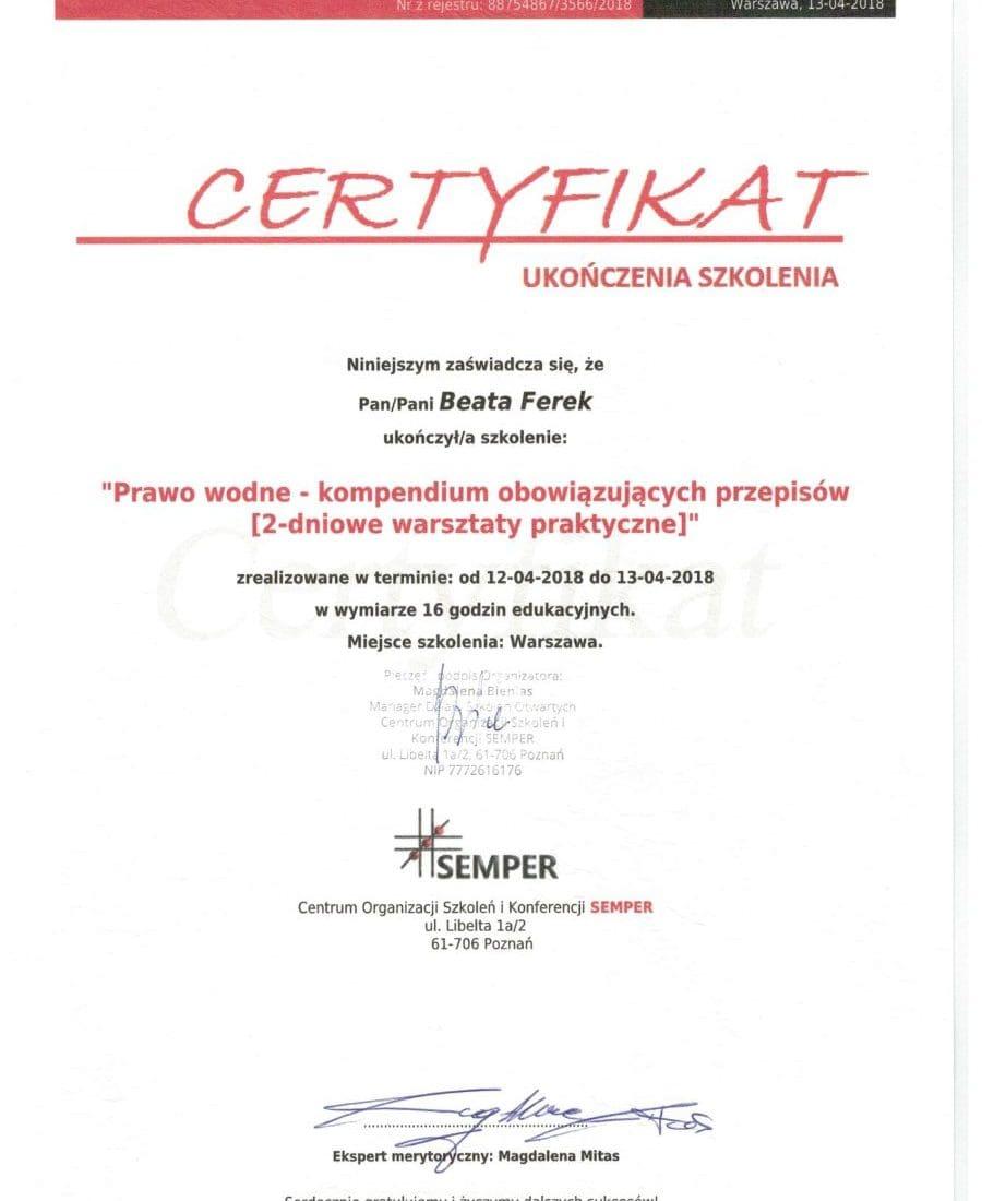 Certyfikaty-Prawo-Wodne
